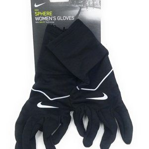 Nike Womens Gloves Large Touch Screen Black New
